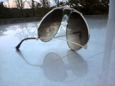 crushed sunglasses