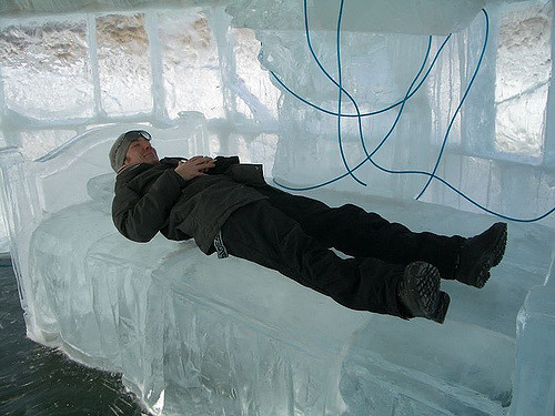 sleeping in a cold room