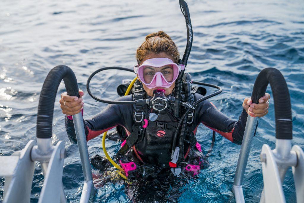 padi diving gear